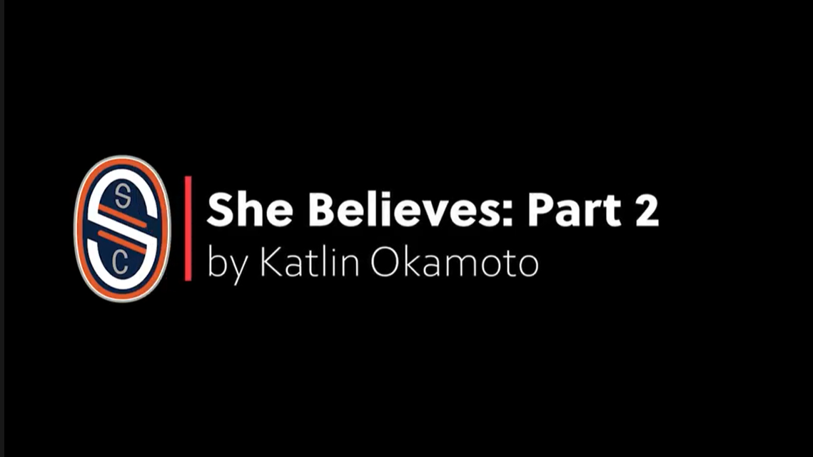 She Believes - Building Confidence Part 2