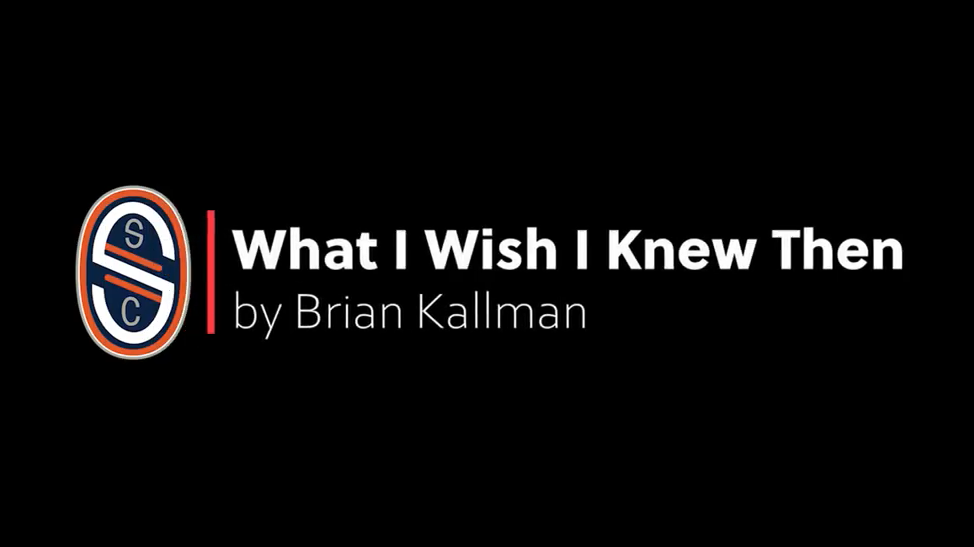 What I Wish I Knew Then